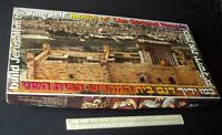 "1980s ""The Second Temple"" Jerusalem Israel Paper Card Cut-Out Model Kit - Superb"