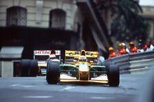 Michael SCHUMACHER. GP Monaco, 1992. Vintage 35mm F1 slide/diapo. S328