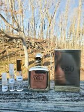 Emporio Armani Stronger With you Leather * Decants * ( New 2020 )