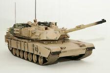 Rádio Controle Escala 1:16 Tanque M1A2 Abrams-Luz, Som & incêndios HE0817 munição!