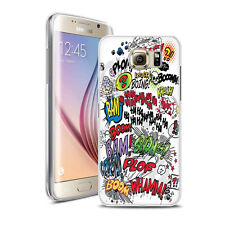 Coque Housse Samsung Galaxy S 7 Edge - Motif Comics