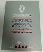 CONCERT PROGRAMME - Genesis Mama Tour Prince's Trust NEC 1984 Concert Programme