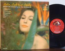 "MORTON GOULD ""Latin, Lush & Lovely"" RARE 1964 DG RCA/VICTOR RED SEAL MONO LP"