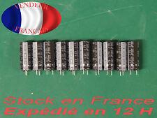 3300 uF 6.3 V condensateur capacitor X10 marque/brand panasonic  105°C