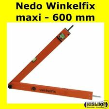 Nedo -Correction d'Angle maxi # 500111 - Rapporteur couteau en angle 600 mm