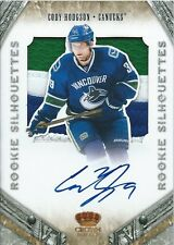 (HCW) 2011-12 Crown Royale Silhouettes CODY HODGSON 31/49 Jersey Auto Rookie