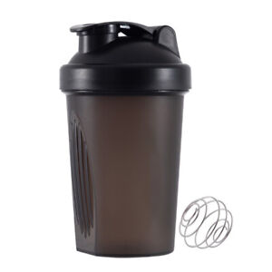400 ml Whey Protein Powder Shaker Bottle - Gym Fitness Portable Outdoor