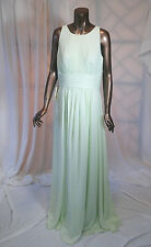 LanTing Bride Ankle-length Georgette Bridesmaid Dress - A-line Scoop / Ruched