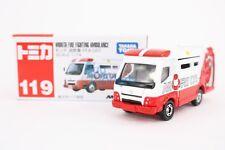 Takara Tomy Tomica #119 Morita Fire Fighting Ambulance FFA-001 1/74 Diecast Toys