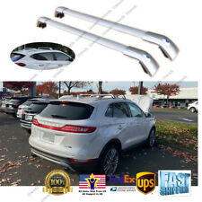 Top Roof Rack fit for LINCOLN MKC 2014-2019  Silver Baggage Luggage Cross Bar