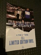 Armabillion Records Poster Limited Edition G-Funk Cold World Hustlers Iceland