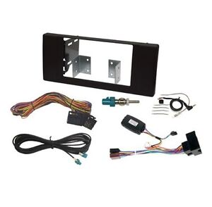 To Fit BMW X5 E53 00-06 Double din Stereo Fitting Kit Facia When Removing NAV