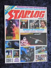 Starlog magazine #36 - Alien, The Empire Strikes Back, Battlestar Galactica
