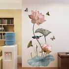 Lotus Wall Stickers Large Decorative Stickers Living Room Home Dec Sk