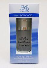 Dead Sea HYALURONIC ACID Facial Day Serum with Dead Sea Minerals 1.01 oz / 30 mL
