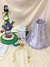 Bradford Exchange Alice in Wonderland Mad Hatter's Tea Party Lamp Broken