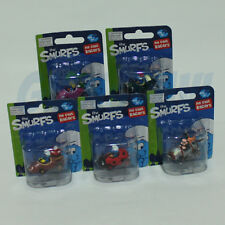 PUFFO PUFFI SMURF SMURFS Die Cast Racers 5cm 5 Car Character set