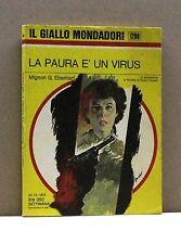 La paura è un virus - M.G.Eberhart [Libro, Il Giallo Mondadori n. 1299]