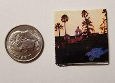 "Dollhouse Miniature Record Album 1"" 1/12 scale Barbie Eagles Hotel California"