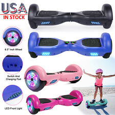 "6.5"" LED Two Wheels Hoverboard Electric Self Balance UL Scooter/Hoverkart NO Bag"