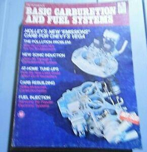 Vintage 1979 Petersen's Basic Carburetion & Fuel Systems Manual Book