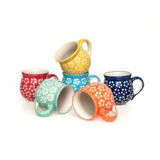 Bunzlauer Keramik Kugelbecher 200 ml 6er-Set Kolor Love Kollektion