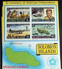 Solomon Islands – 1976 - USA Bicentenary – Minisheet – UM (MNH) (R6)
