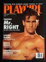 Playgirl Magazine June 1991 - Bruce Willis, Maxine Elliott Marten