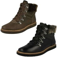 Standard (D) Lace Up Textile Upper Boots for Women