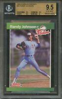 1989 donruss rookies #43 RANDY JOHNSON expos rookie card BGS 9.5 (9.5 9.5 9.5 9)