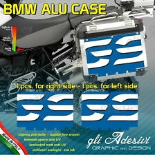 2 Adhesivos Stickers Maletas Lateral BMW Alforjas R 1200GS Big Azul