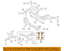 FORD OEM Mustang Front Suspension-Lower Control Arm Adjust Bolt 4R3Z3B236AB