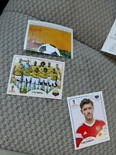 Panini FIFA World Cup RUSSIA 2018 REGULAR CARDS selection