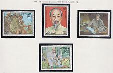 VIETNAM N°577/580**  HO CHI MINH 1985  Viet nam Sc#1510-1513  MNH