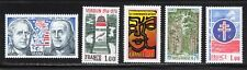 France 1976 SC# 1480 - 1484 - Five Different Stamps -  M-NH Lot # 121