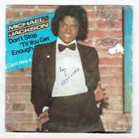 """Michael JACKSON Vinyle 45 tours 7"""" DON'T STOP 'TIL YOU GET ENOUGH - EPIC 7763"""