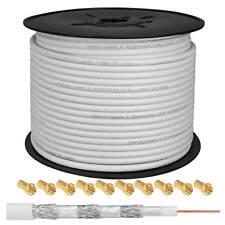 Koaxial Kabel 140dB REINES KUPFER KH 140-100 R SAT Antennen KABEL Kupfer CU HDTV