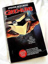 VINTAGE PAPERBACK:  Steven Spielberg Presents GREMLINS by Geo Gipe, 1984, Avon