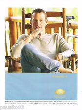 PUBLICITE ADVERTISING 065  2002  MANDARIN ORIENTAL HOTEL   LANCE AMSTRONG