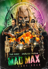Mad max Fury Road Movie Poster Style C 13x19