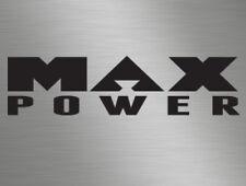 Max Power Car Magazine Vinyl Decals Window Stickers, Race, Retro Old Skool JDM