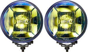IPF Fog Lamp Halogen H3 Round Diameter 166mm 12v Hybrid Light Distribution 2 Pie