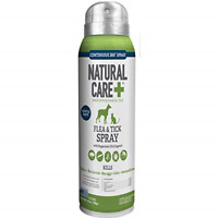Natural Care Flea and Tick Spray for Dogs and Cats | Flea Treatment for Dogs and