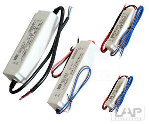 LPV MeanWell Netzteil Stromversorgung Trafo LED DIN 5V 12V 24V 36V 48V IP67