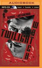 Night Watch: Twilight Watch 3 by Sergei Lukyanenko (2015, MP3 CD, Unabridged)