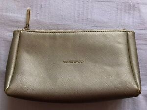 Katie Loxton Gold Make-Up Cosmetic Wash Toiletry Bag