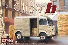 Citroen H Van 1:24 Plastic Model Kit EBBRO