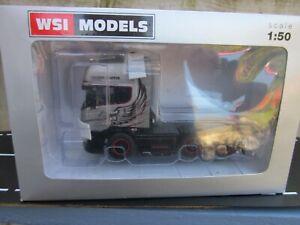 WSI Rare Silver Griffin scania R  6x2Twin steer unit, heavy haulage etc.