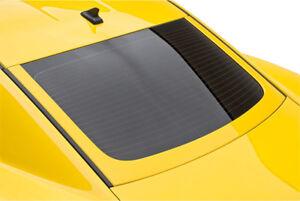 Fits 10-15 Chevrolet Camaro 3dCarbon Urethane Rear Window Molding U-Trim 691806