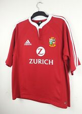 Adidas British and Irish Lions Rugby Union Jersey Size Large New Zealand 2005